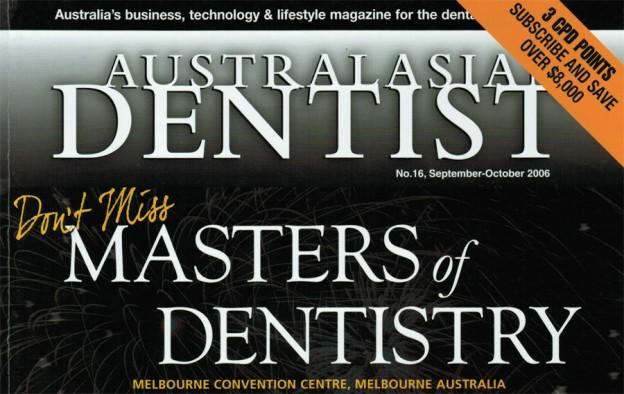 Australasian Dentist Septt 2006