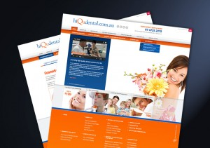 IDM Portfolio hiQu Dental Website